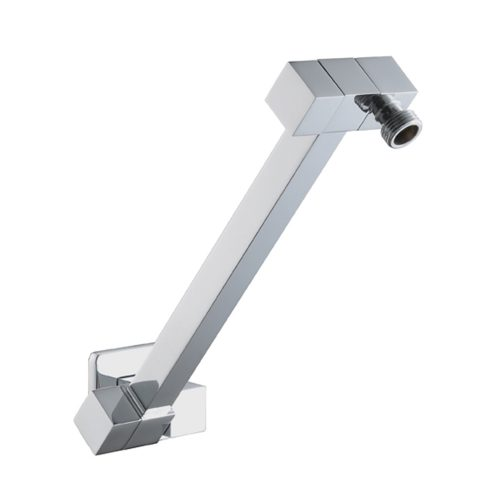 Heavy Duty All Directional Square Shower Arm- Chrome